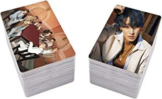 SosoJustgo2 100 Pcs Fashion Kpop ATEEZ Mini Album Spring Memorize Official Original selected photocard Lomo Cards Set Novelty Souvenir Accessories Fans Gift Kit