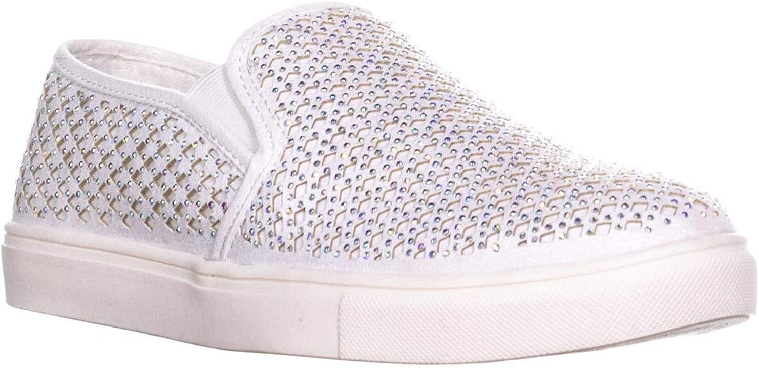 Material Girl Womens EIDYTH Embellished Slip On Casual shoes