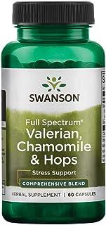 Sponsored Ad - Swanson Full Spectrum Valerian Chamomile & Hops 60 Capsules