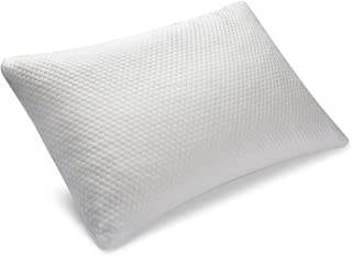 Shloofee Shredded Memory Foam Pillow - Queen Size - Adjustable Pillow - Side Sleeper Pillow - Breathable Bamboo Soft, Washable Removable Cover - Orthopedic Pillow, Pillows for Neck Pain