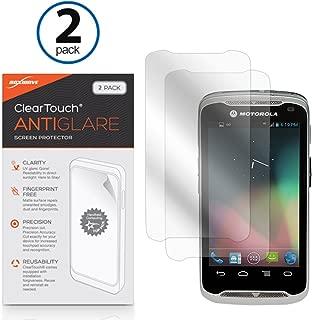BoxWave Motorola TC55 Screen Protector, [ClearTouch Anti-Glare (2-Pack)] Anti-Fingerprint Matte Film Skin for Motorola TC55