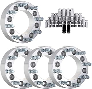 Fits Ford//Acura//Cadillac//Chevy//Chrysler//GMC//Honda//Hummer//Hyundai//Jeep//Toyota 1960-2014 SCITOO 24Pcs Wheel Lug Nuts Chrome Spline Socket Bulged Acorn Truck,14X1.5 Thread,1.9 inches Tall