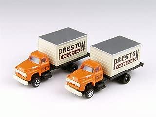 Classic Metal Works MWI50357 N 1954 Ford Box Truck, Preston Freight (2)