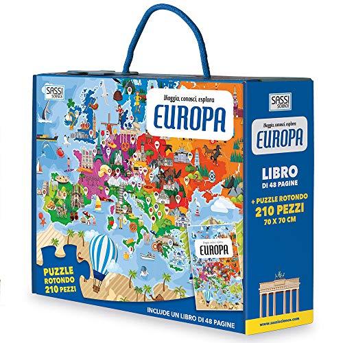 Europa. Viaggia, conosci, esplora. Con puzzle