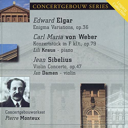 Concertgebouw Orchestra, Jan Damen & Lili Kraus