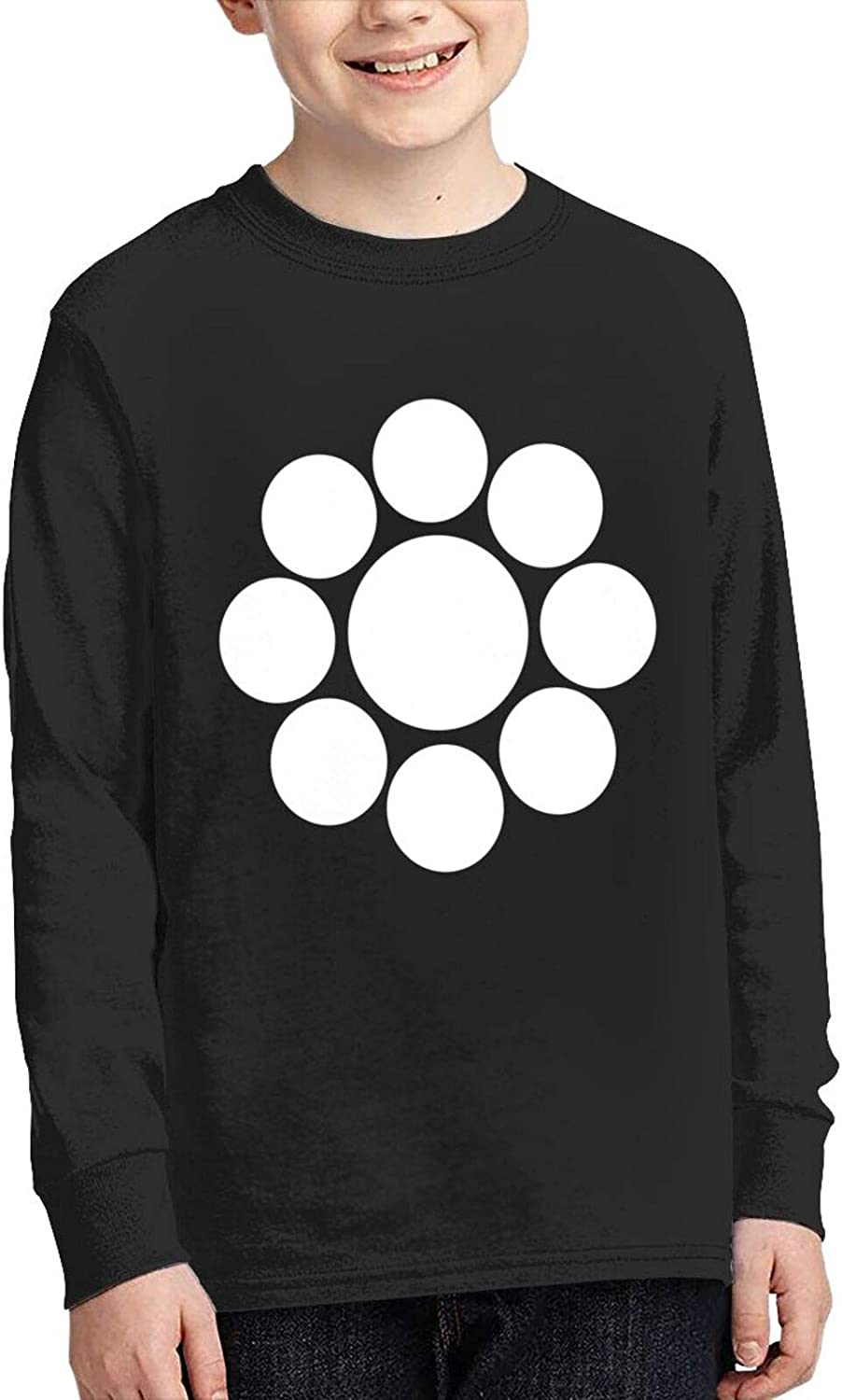 Nine White Circles Sweater Fashion and Comfortable Children's Sweater