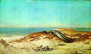 Lair of the Sea Serpent by Elihu Vedder - 16