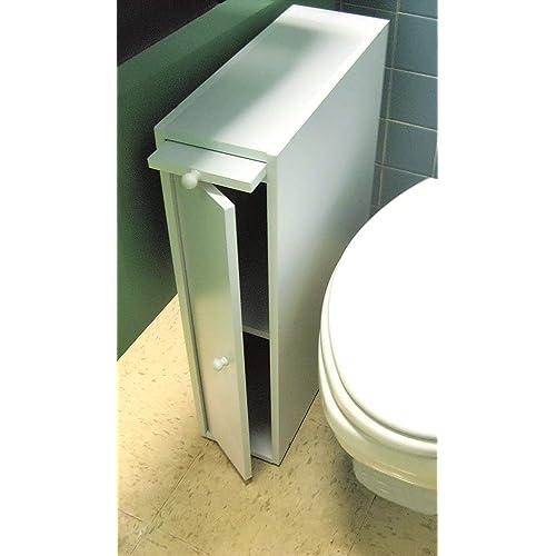 Slim Bathroom Storage Cabinet Amazon Com