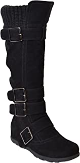 loose fitting knee high boots