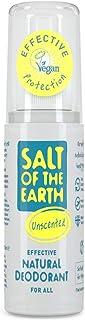 Naturalny dezodorant podróżny spray soli ziemi, bezzapachowy, bez zapachu - wegański, długotrwała ochrona, zatwierdzony pr...