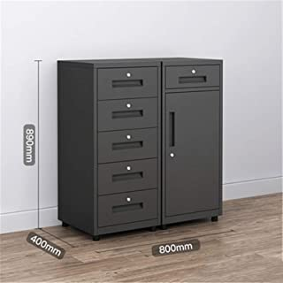 Rangement de dossiers Cabinet de classement de bureau en métal en acier basse armoires de stockage de stockage Armoires de...