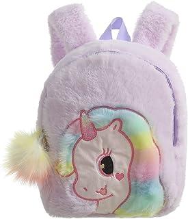Kids Backpack For Girls,Plush Cartoon Unicorn Bag,Schoolbag,Travel Bag for Girls