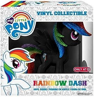Funko My Little Pony Rainbow Dash Exclusive Vinyl Figure [Black Glitter]