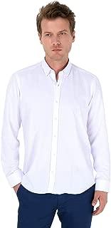 Oxford Slim Fit Uzun Kollu Gömlek Beyaz