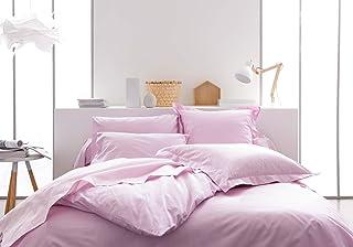 Today Drap Housse Jersey - 100% Coton - Poudre de Lila - 140x190 cm