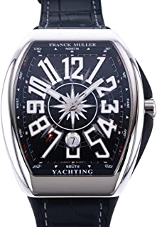 フランク・ミュラー FRANCK MULLER ヴァンガード ヨッティング V45SC DT YACHTING AC NR ブラック文字盤 腕時計 メンズ (W211006) [並行輸入品]