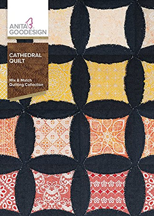 Anita Goodesign Embroidery Machine Designs CD Cathedral Quilt