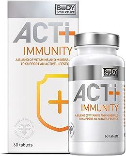 Escultura corporal Actividad-Imunidad | Contiene vitamina B1. B2. B6. B12. C y D3 | Contiene zinc | Diseñado específicamente para ayudar al sistema inmunológico