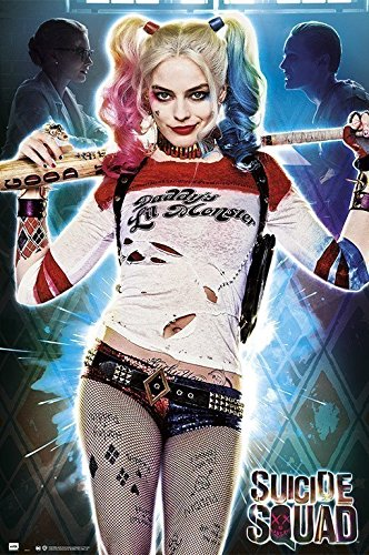 Grupo Erik Editores Poster Suicide Squad Harley Quinn Daddys Lil Monster