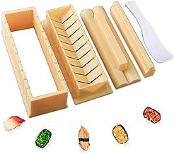 مجموعة الطبخ طبق السوشي، طبق خشبي على شكل قارب، أواني طهي يابانية للسوشي من مجموعة الوجبات الخفيفة اليابانية، أغذية الحفلا...