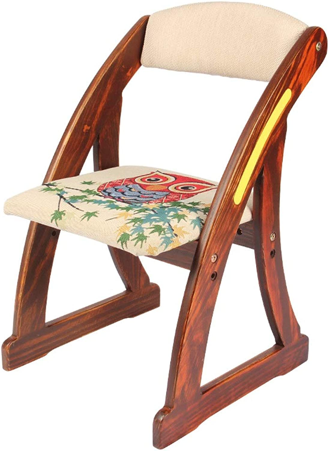 LifeX Retro color Solid Wood Square Footstool Wooden Dressing Backrest Chair Ethnic Pattern Change shoes Bench Baby Adult Sofa Stool Kids Armchair Kitchen Rectangle Seat Can Lift (color   Style B)