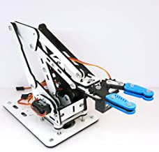 ArmUno 2.0 MeArm and Arduino Compatible DIY Robot Arm Kit With MeCon Motion Control Software and Arduino Source Code Via Download Link