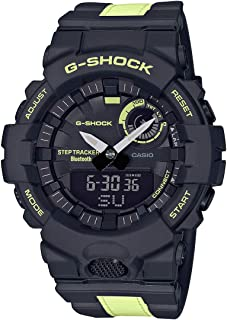 Casio G-Shock G-Squad GBA-800LU-1A1DR Analog Quartz Black Resin Men's Watch
