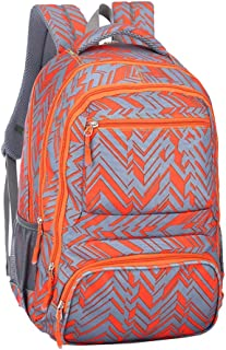 Cooralledtooere Fashion Casual Backpack- Daypack for Business/College/Women, Versatile Backpack is Ideal to Take Whether You are Traveling, Dating, Shopping (Color : Orange, Size : 45 * 31 * 18cm)