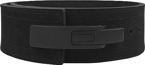 Hawk Sports Lever Belt Black Genuine Leather Powerlifting Men & Women Power Lifting 10mm Weightlifting Belt!