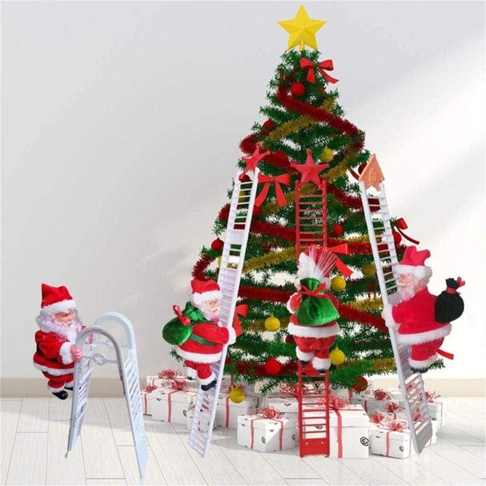 WonWg Decoración De Papá Noel Decoraciones De Navidad Led ...