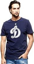 HC Dynamo Moscow KHL Russian Hockey Club T-Shirt, dark blue