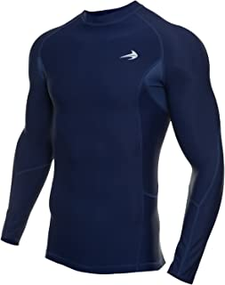 CompressionZ Mens Quick Dry Compression Long Sleeve Baselayer Athletic Shirt