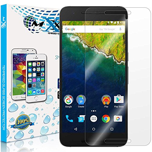 MXX (TG-3129) Premium Ultra-Clear High Definition (HD) Screen Protector Tempered Glass for Huawei Google Nexus 6P (Pack of 1)