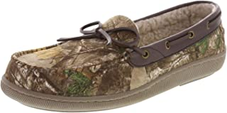 Rugged Outback Men's Mitchell Camo Moccasin Slipper