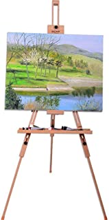 wooden painter's easel