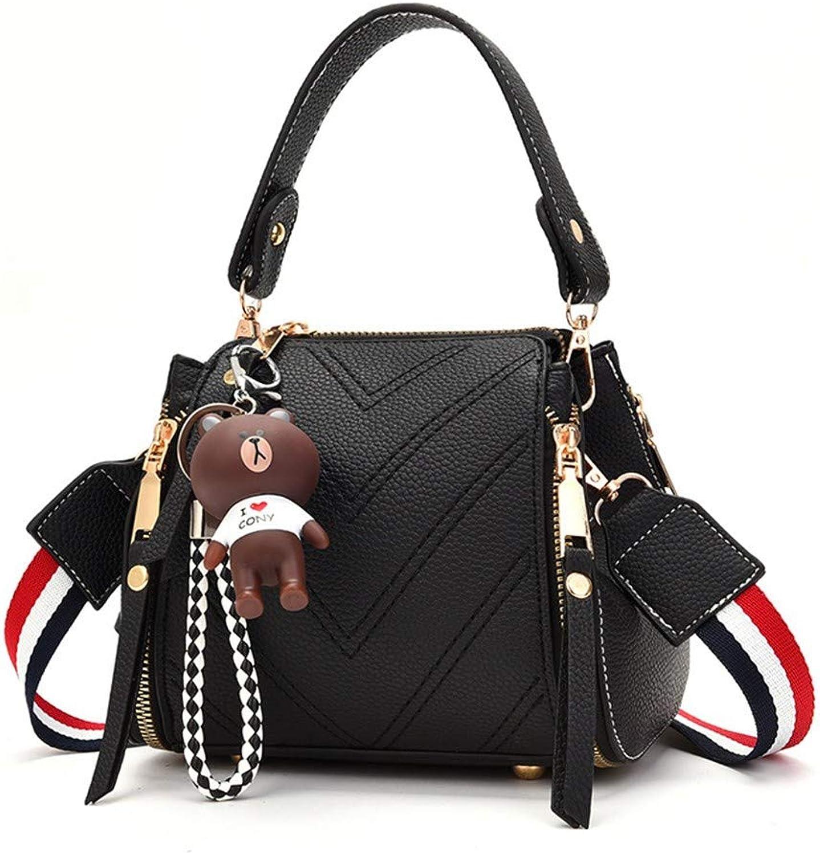 WMQQ Handtasche Handtasche Handtasche Damentasche Wilde Mode Umhängetasche Handtasche Student Messenger Bag Eimer Tasche B07KFCM55N  Elegante und robuste Verpackung dd7033