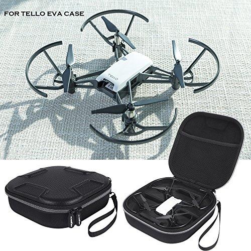 Lichifit Custodia da viaggio portatile in pelle PU ed EVA per mini drone quadrirotore Ryze Robotics...