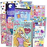 Barbie Stickers Coloring and Activity Set - Bundle Includes Barbie Coloring Book, Stickers, and 2-Sided Door Hanger in Specialty Gift Bag