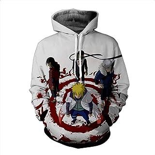HOOSHIRTA Cartoon Naruto Hoodies Sweatshirts 3D Hoodie Hatake Kakashi Printing Sweatshirt Male Outerwear Casual Pullovers Drop
