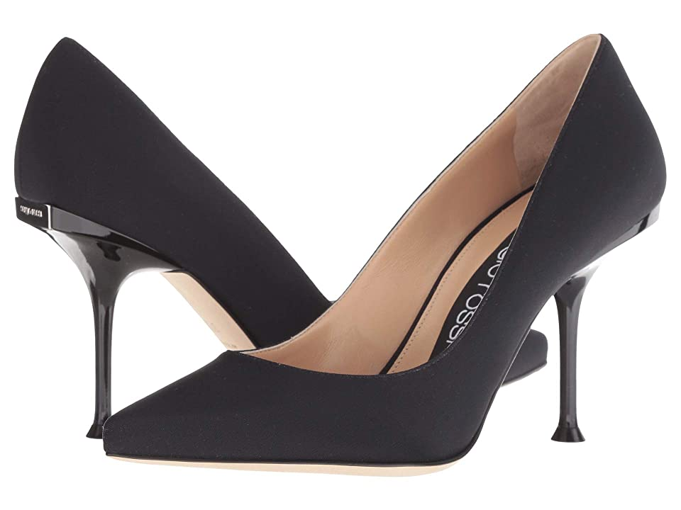 Sergio Rossi A81753-MTE134 (Black) High Heels