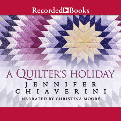 Quilter's Holiday audiobook cover art