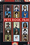 Puzzles Educa - Pets Rock Film, Puzzle de 500 Piezas (15553)