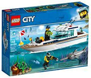 LEGO City Great Vehicles Diving Yacht for age 5+ years old 60221