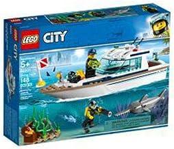 ليغو لعبة يخت الغوص للمدينة , لعمر 5 سنوات فاكثر - 60221