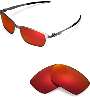 Walleva Replacement Lenses for Oakley Tinfoil Sunglasses - Multiple Options