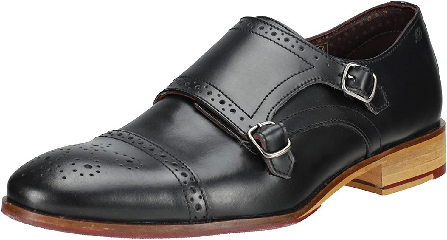 London Brogues Wister Monk Mens shoes