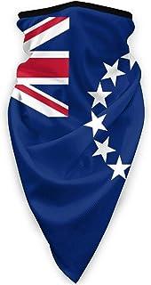 Cooköarnas flagga multifunktionell sport ansiktsmask balaklava, vindtät unisex ansiktsskydd turban halsduk vuxen utomhussp...