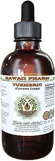 Turmeric Alcohol-FREE Liquid Extract, Organic Turmeric (Curcuma Longa) Dried Rhizome Glycerite 2 oz