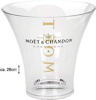 Moet & Chandon Champagne Champagner Sekt Prosecco Kühler Flaschenkühler Eiskühler - ca. 28cm hoch