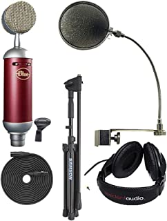 Blue Spark SL,mic Stand,XLR Cable,mic Clip,pop Filter and Headphones